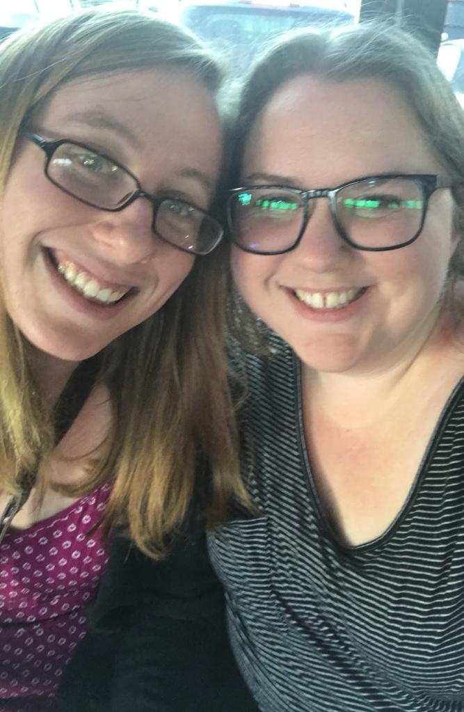 neena and me